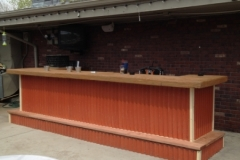 Outdoor Bar Refurbished